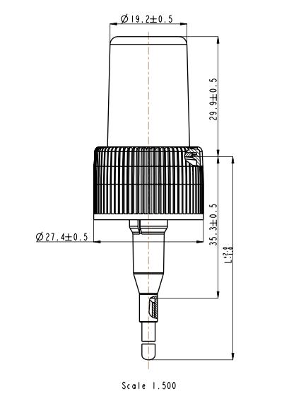 Plano botella FS608